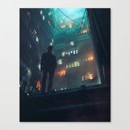 QUIET CORNER (everyday 01.11.18) Canvas Print
