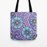 celestial Tote Bags featuring Celestial by ErinNNelson