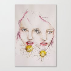 Make me a flower Canvas Print