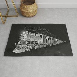 A nostalgic train Rug