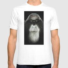 Debrazza's Monkey  Mens Fitted Tee White MEDIUM