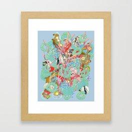 Alien Organism 9 Framed Art Print