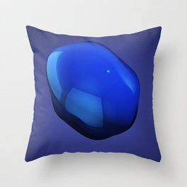 Blobby number 2 Throw Pillow