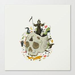 Thanatophobia Canvas Print