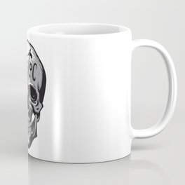 Tic Toc Skull Coffee Mug
