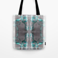 Ballet Shoe Blue reflection Tote Bag