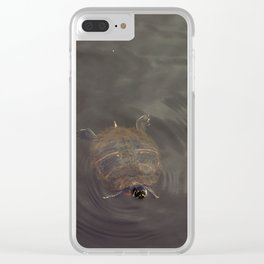 Hey Turtle Clear iPhone Case