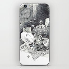 Alien Skull iPhone Skin