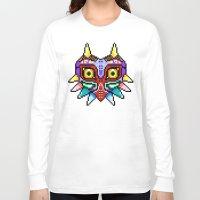 majoras mask Long Sleeve T-shirts featuring Majoras Mask /Pixel /zelda by tshirtsz