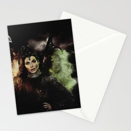 Sisters: The Evil Queen and The Wicked Witch Stationery Cards