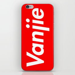 The Supreme Vanjie iPhone Skin