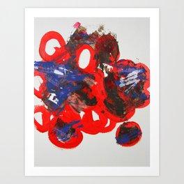 Bloated Mickey Art Print