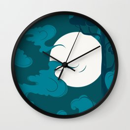 Calm night Wall Clock