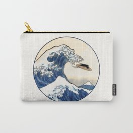 Great Wave off Kanagawa Surfer Carry-All Pouch