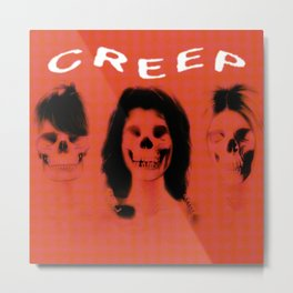 CREEP Tee! Metal Print
