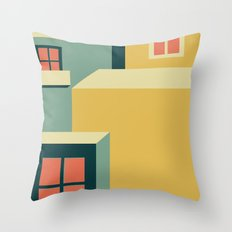 Morning in Sunset Hills Throw Pillow