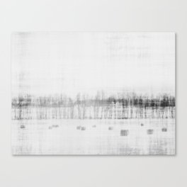 Subtle in black and white ~ 2 Canvas Print
