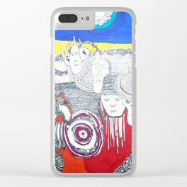 Standing Rock Clear iPhone Case