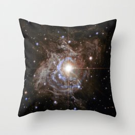 Variable star RS Puppis Throw Pillow