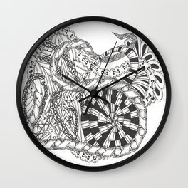 Notions Wall Clock