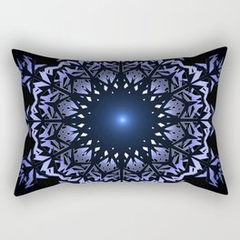 Mandala snowflake. Rectangular Pillow