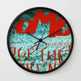 Come Togheter. Wall Clock