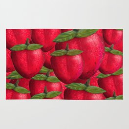 Strawberries Rug