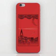 une nuit à paris (red version) iPhone & iPod Skin