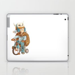 Cute fallout character - little boy with the bike Laptop & iPad Skin
