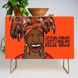 La Reina Celia Cruz Credenza