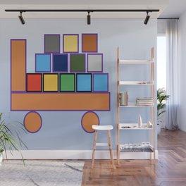 Kiddies Truck With Blocks Wall Mural