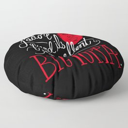 French Poppa Floor Pillow