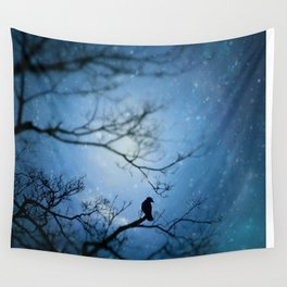 Silent Snow Wall Tapestry