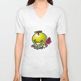 Melon☆POP logo Unisex V-Neck