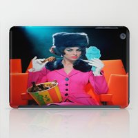 theatre iPad Cases featuring Theatre Lady by Wanker & Wanker