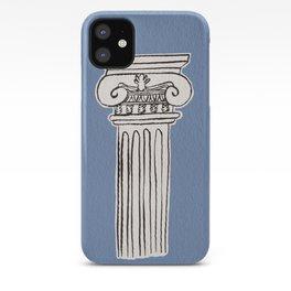 Greek ionic column iPhone Case