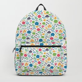 Ditzy Floral Backpack