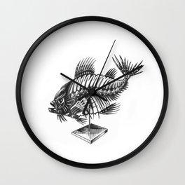 Fishbone Wall Clock