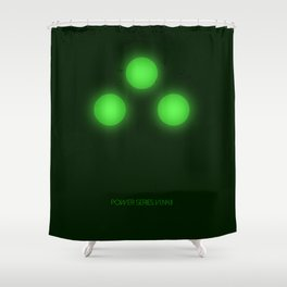 Night Vision Power Shower Curtain