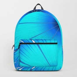 TURQUOISE Flower Backpack