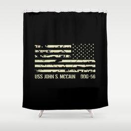 USS John S. McCain Shower Curtain