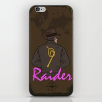 tomb raider iPhone & iPod Skins featuring Raider by edgarascensao