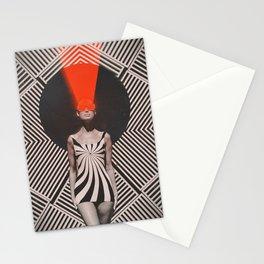 Laser OP Girl Stationery Cards