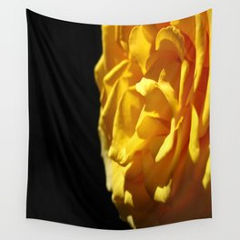 Golden Rose Wall Tapestry
