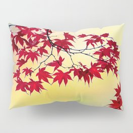 Red Maple Pillow Sham