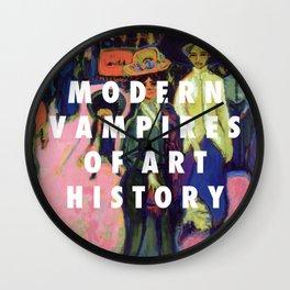 Modern Vampires Wall Clock