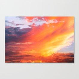 Alternate Sunset Dimensions Canvas Print