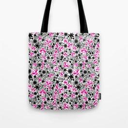 Flamingo Frenzy Tote Bag