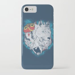 The princess and the wolf iPhone Case