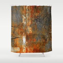 Rust Texture 72 Shower Curtain